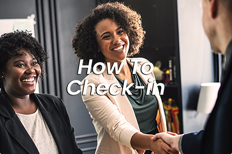 How to Check In